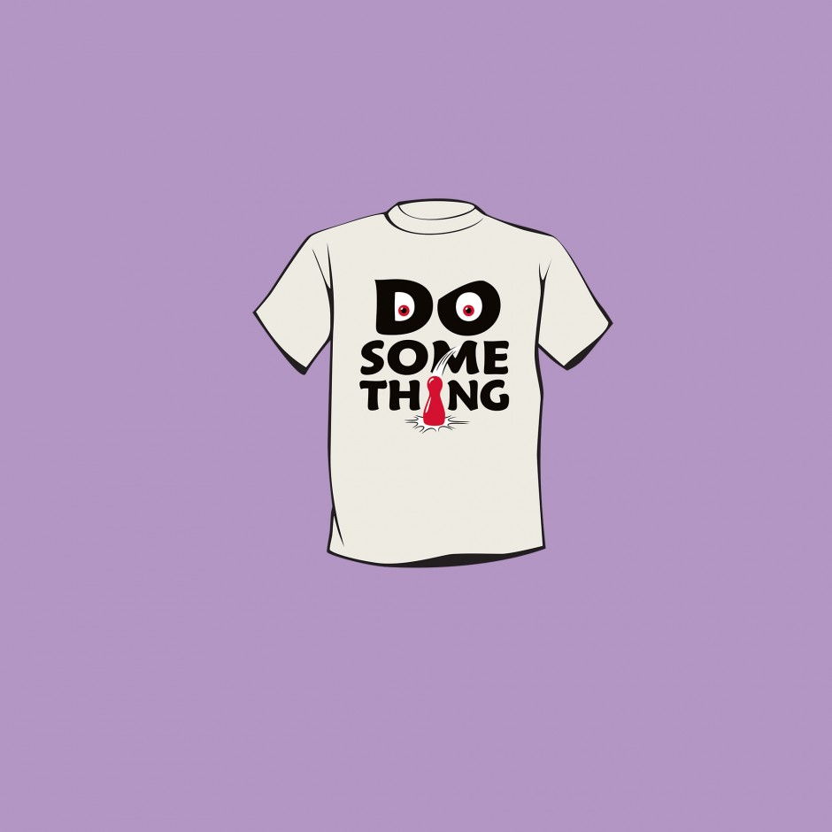 """Do Something"" T-shirt for Magic Maze"