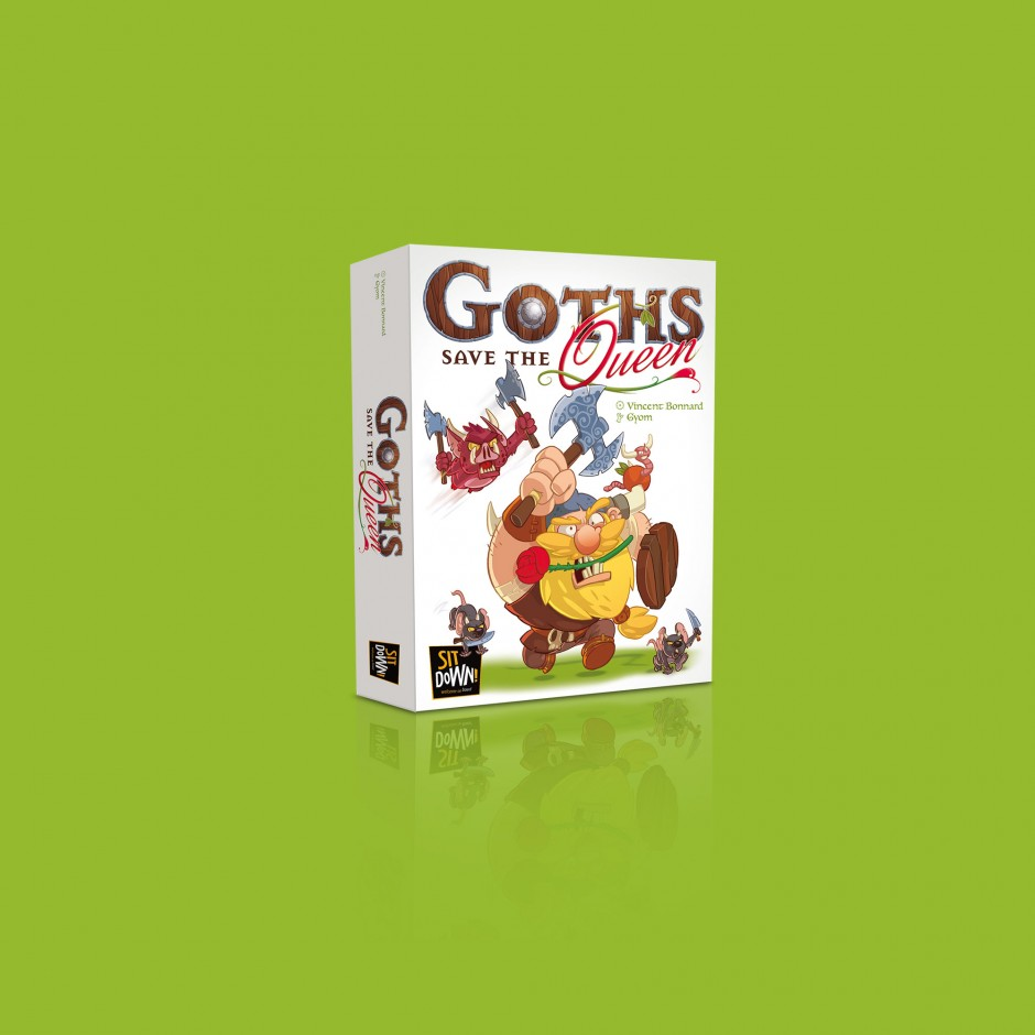 Goths Save The Queen + Oh My Goths! + Twinples (2 to 4 players)