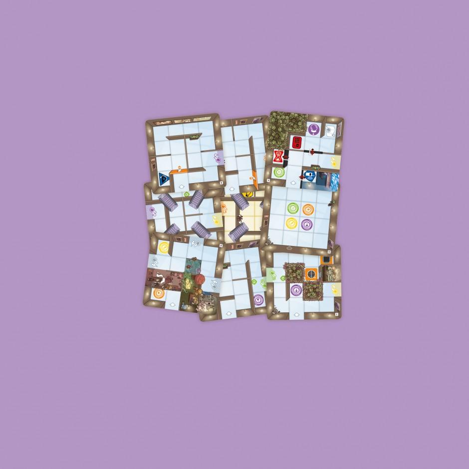 9 nouvelles tuiles pour Magic Maze