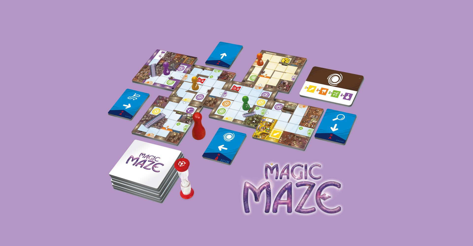 Mise en situation de Magic Maze