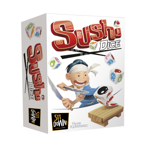 Sushi Dice- Box