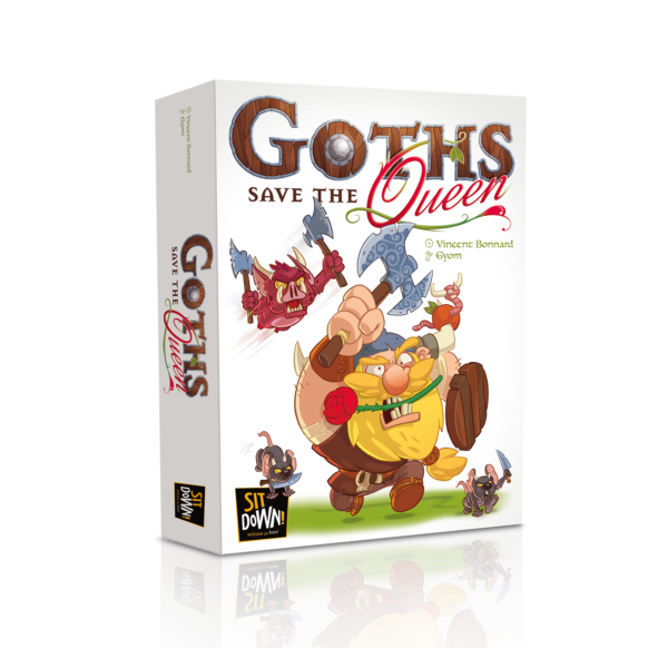 Goths save the queen - Box