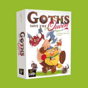 Goths save the queen box