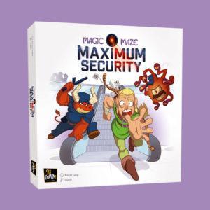 Magic Maze Maximum Security box