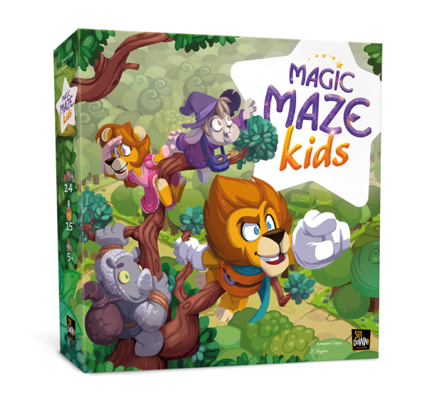 Magic Maze Kids - Box