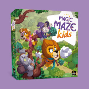 Magic Maze Kids box