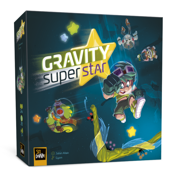 Gravity Superstar- Box