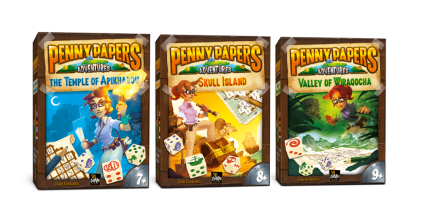 Penny Papers Adventures - 3 boxes