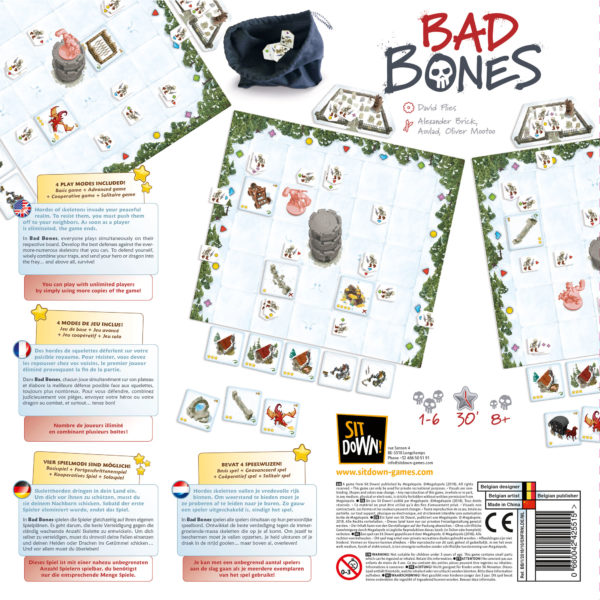 Bad Bones - Back of the Box