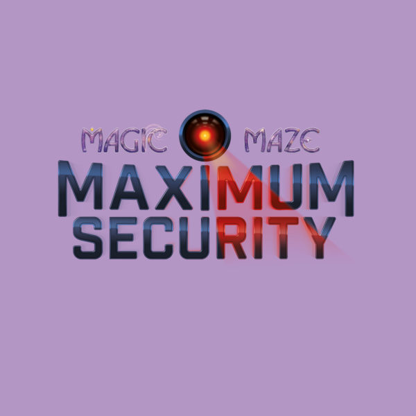 Magic Maze Maximum Security - Logo