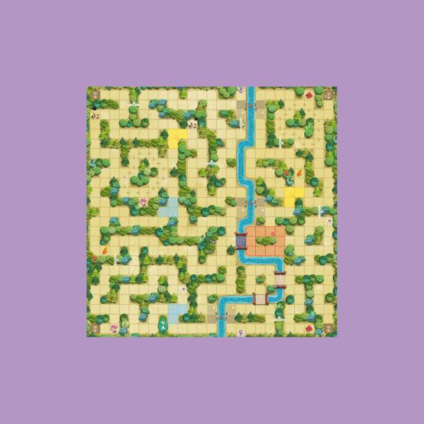 Magic Maze Kids XXL - Play Mat