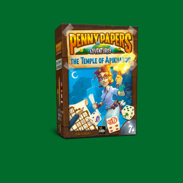 Penny papers Adventures - Apikhabou box