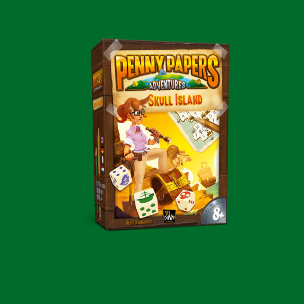 Penny papers Adventures - Skull Island box