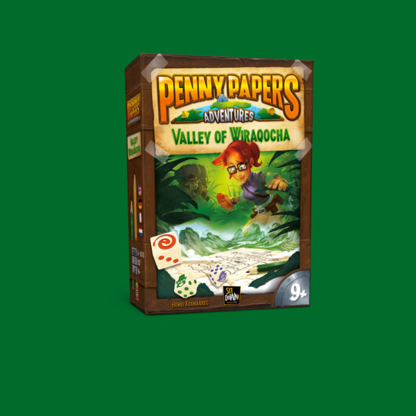 Penny papers Adventures - Valley of Wiraqocha box