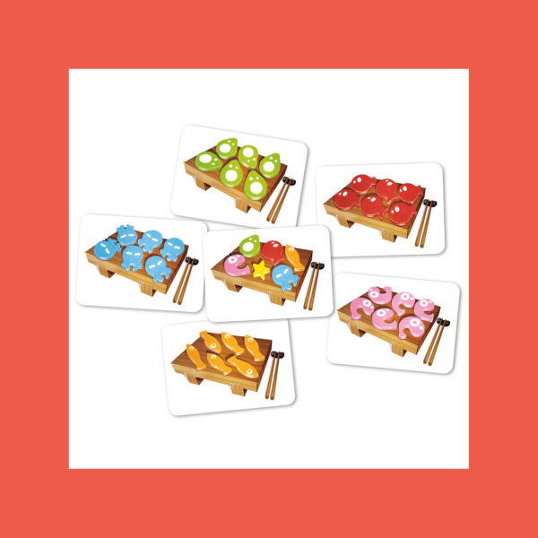 Sushi Dice - Cards