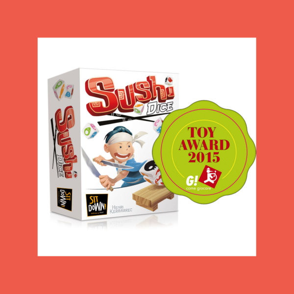Sushi Dice - Toy Award 2015