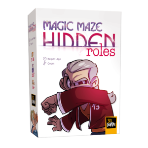 Magic Maze Hidden Roles - Box