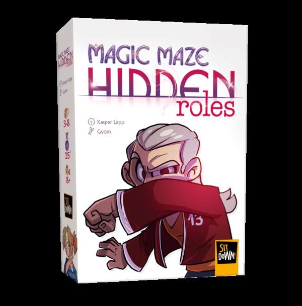 Magic Maze Hidden Roles - Box