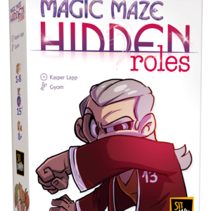 Magic Maze Hidden Roles box