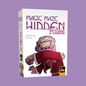 Magic Maze Hidden Roles box