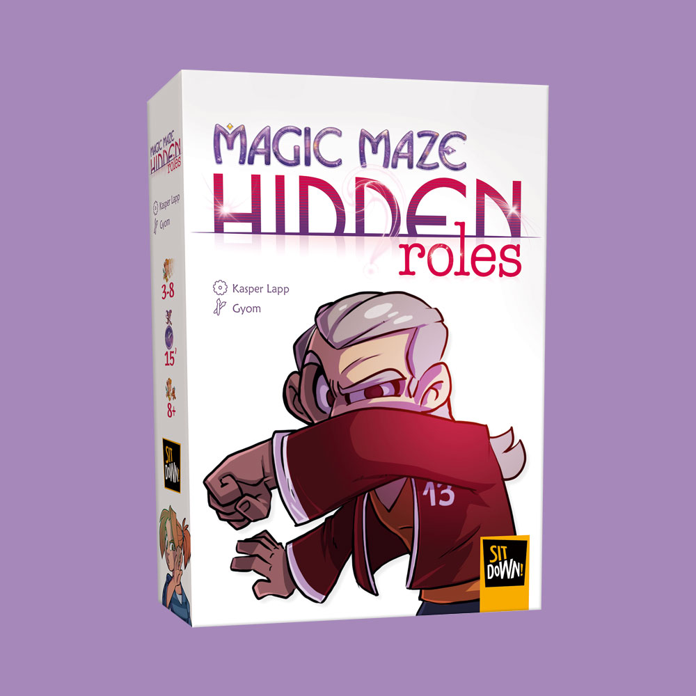 Hidden Roles: Magic Maze -  Sit Down Games