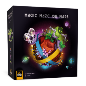 Magic Maze on Mars - Box