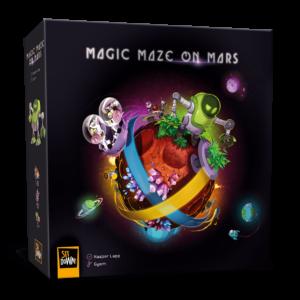 Magic Maze on Mars - Box