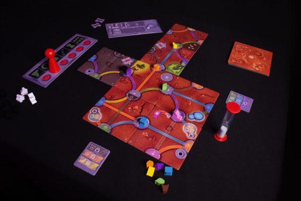 Magic Maze on Mars - Game Simulation