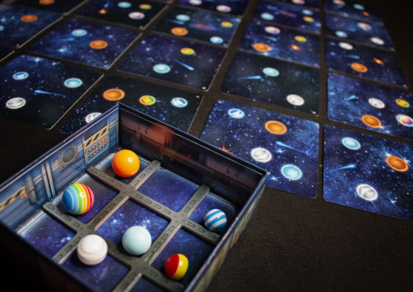 Space Bowl - Board Computer box & galaxy