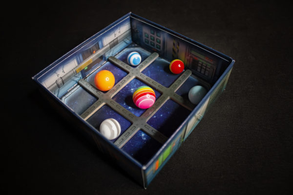 Space Bowl - Board Computer Box with Marbles