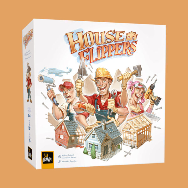House Flippers - Front of the box