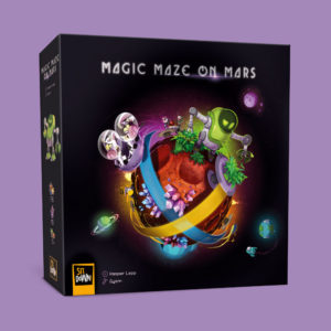 Magic Maze on Mars - Front of the box
