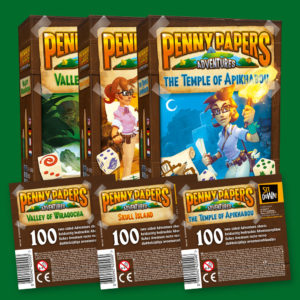 Penny papers 3 boxes