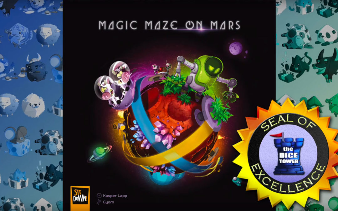 Magic Maze on Mars Seal of Excellence - The Dice Tower