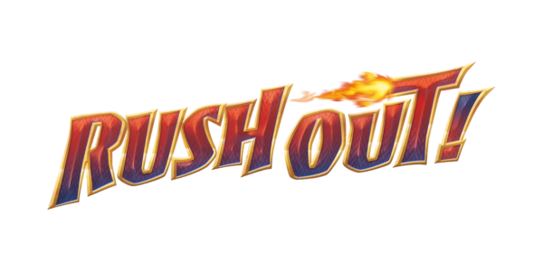 Rush Out! Logo