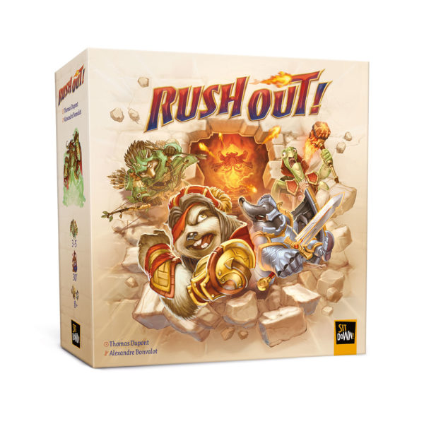 Rush Out! box