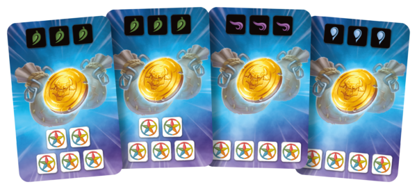 Rush Out! Coin cards