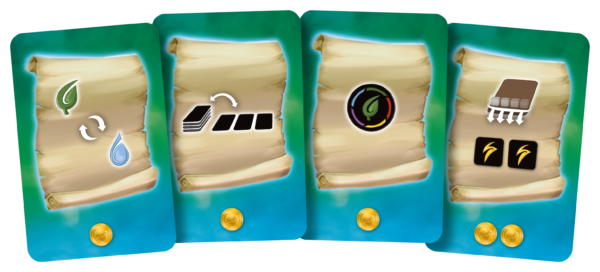 Rush Out! Scroll cards