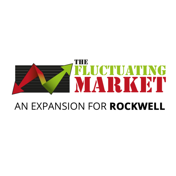 The fluctuating Market logo