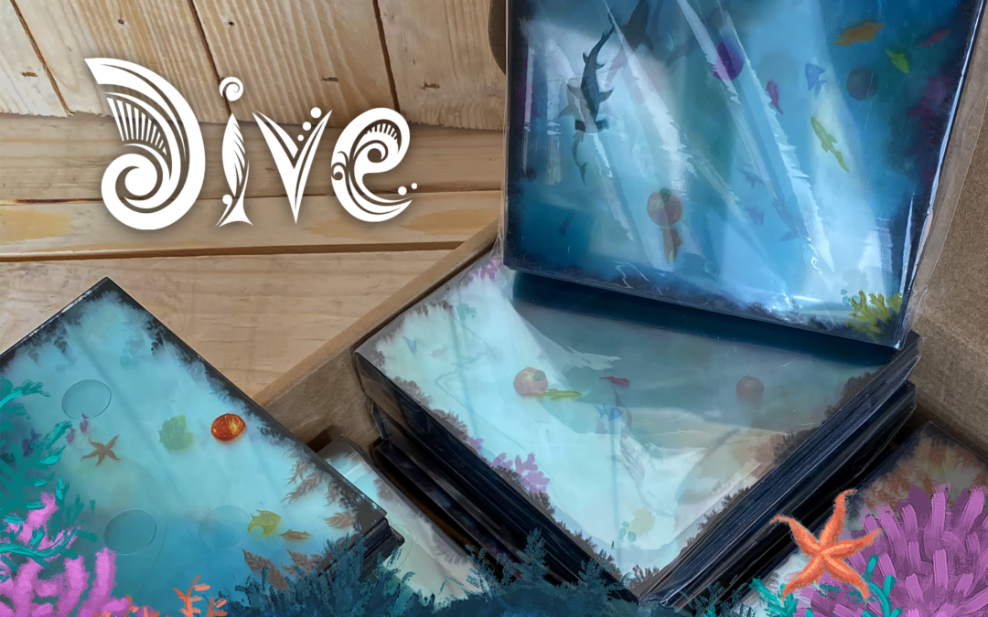 Dive's first prototypes are here!