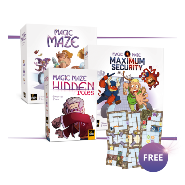 Magic Maze Super Bundle