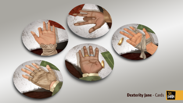 Dexterity Jane - Cards